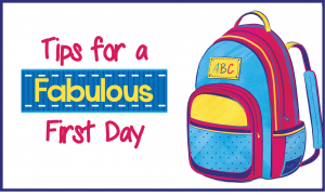 http://www.ozcurriculumhq.com.au/seasonal/tips-for-a-fabulous-first-day/