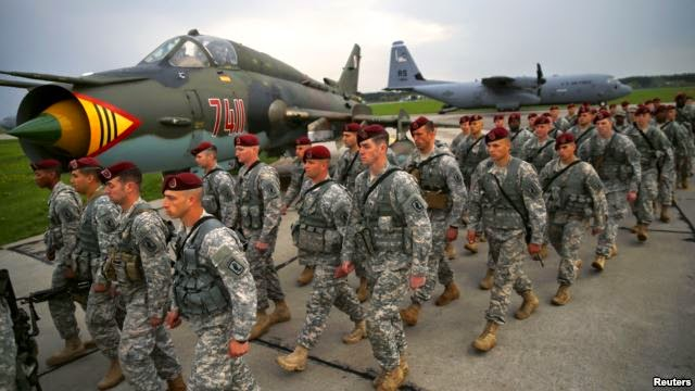 Pasukan Para AS Mendarat di Polandia