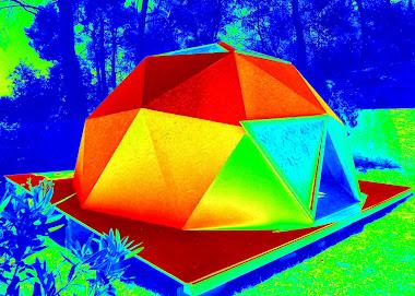 "Domo ""Despertar"" Icosaedro 5 mts diametro."