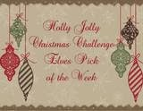 Top 3 for Holly Jolly Christmas Challenge - White on White