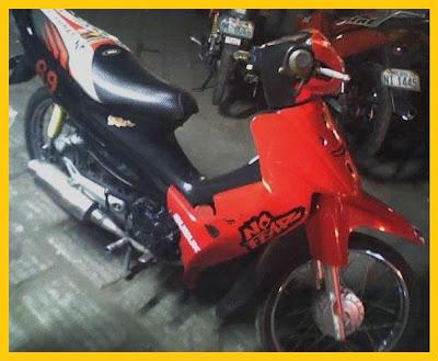 Modifikasi Motor Suzuki Smash 110_Rasing