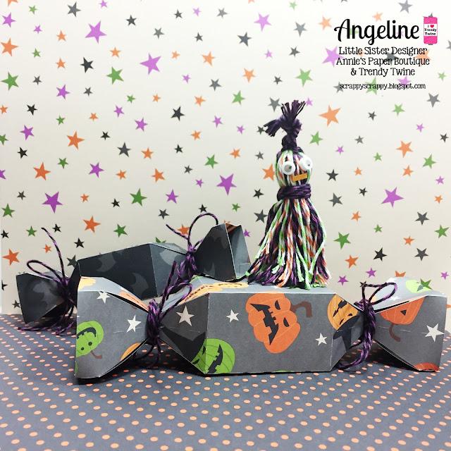 ScrappyScrappy: Trendy Twine - Spooky Treats #trendytwine #scrappyscrappy #halloween #svgattic #svg #cutfile #diecut #twine