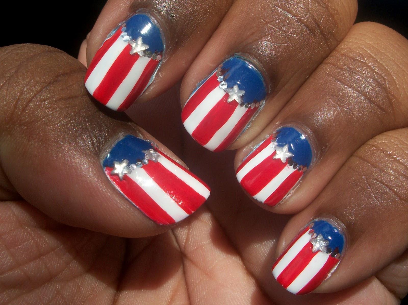 Nail Design July 4th 2015