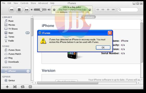 iOS 7: Cara Downgrade iOS 6 ke iOS 5.1.1 dengan Redsn0w Untuk iPhone ...
