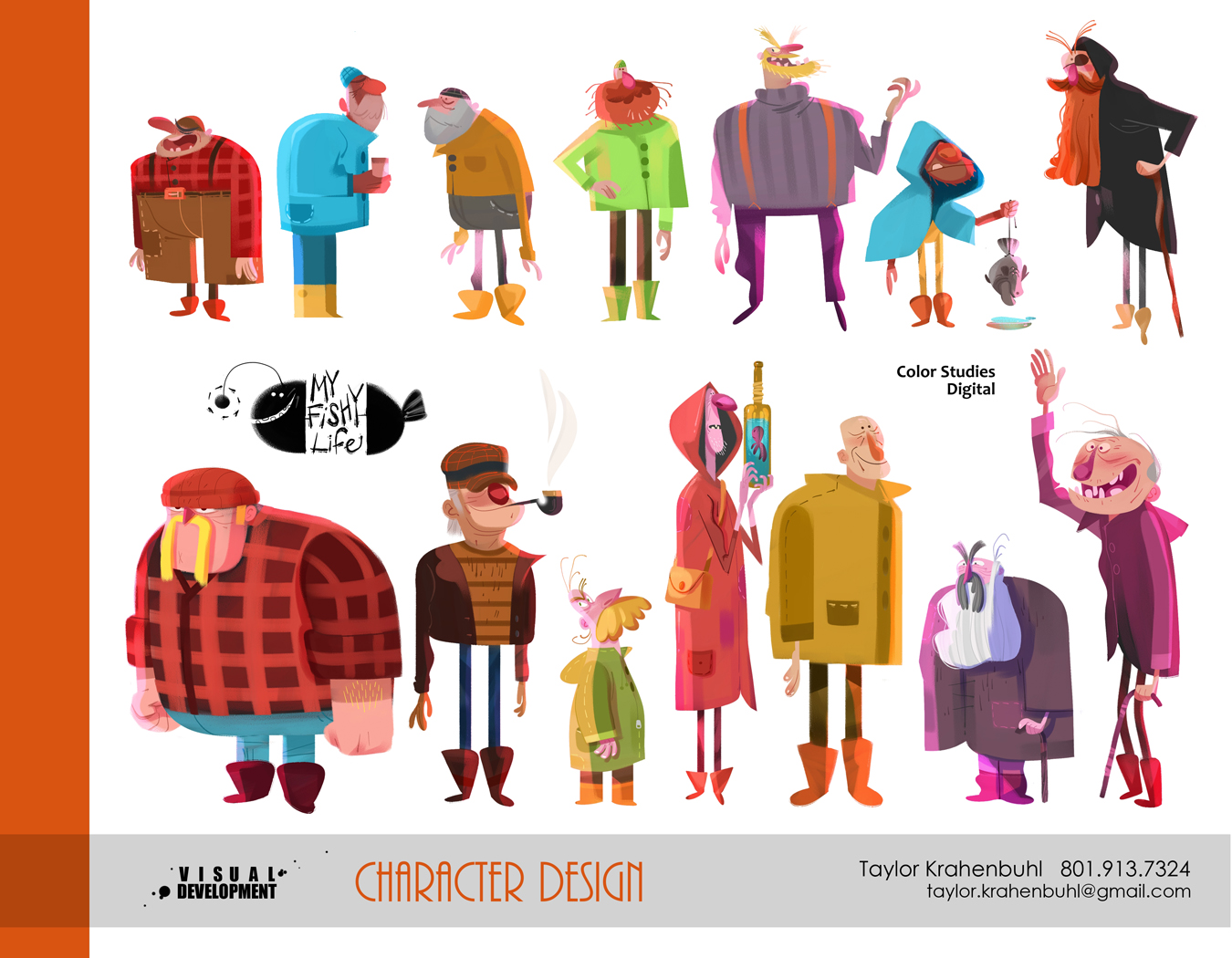 Character Design Visual Development Portfolio : Visual development portfolio taylor krahenbuhl
