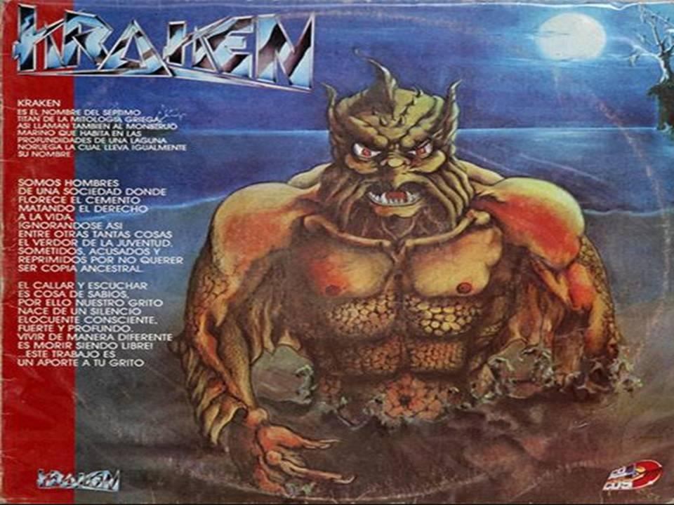 Kraken primer album