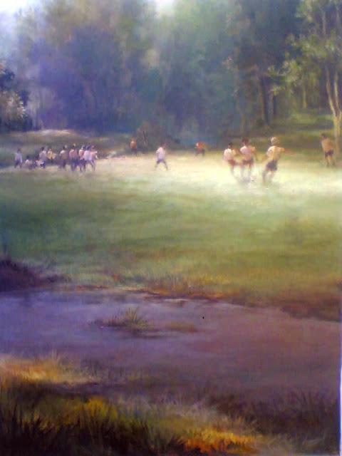lukisan toto sukatma,lukisan,lukisan kehidupan desa.lukisan pe,andangan,lukisan anak,lukisan pemandangan hutan,lukisan cahaya