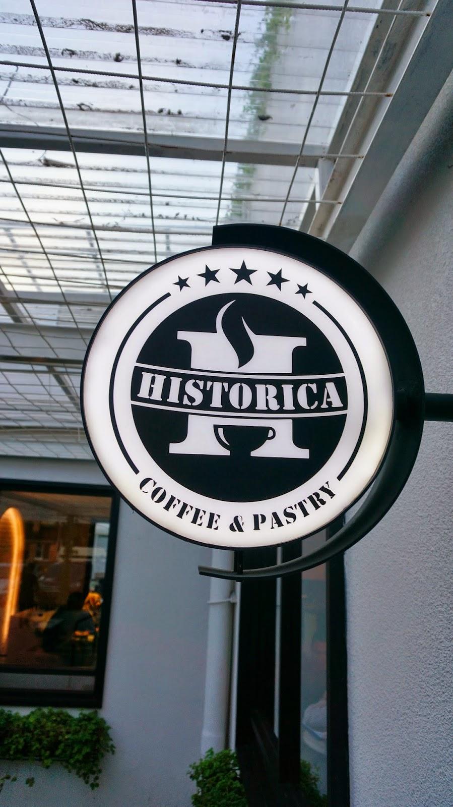 Historica Coffee & Pastry Logo