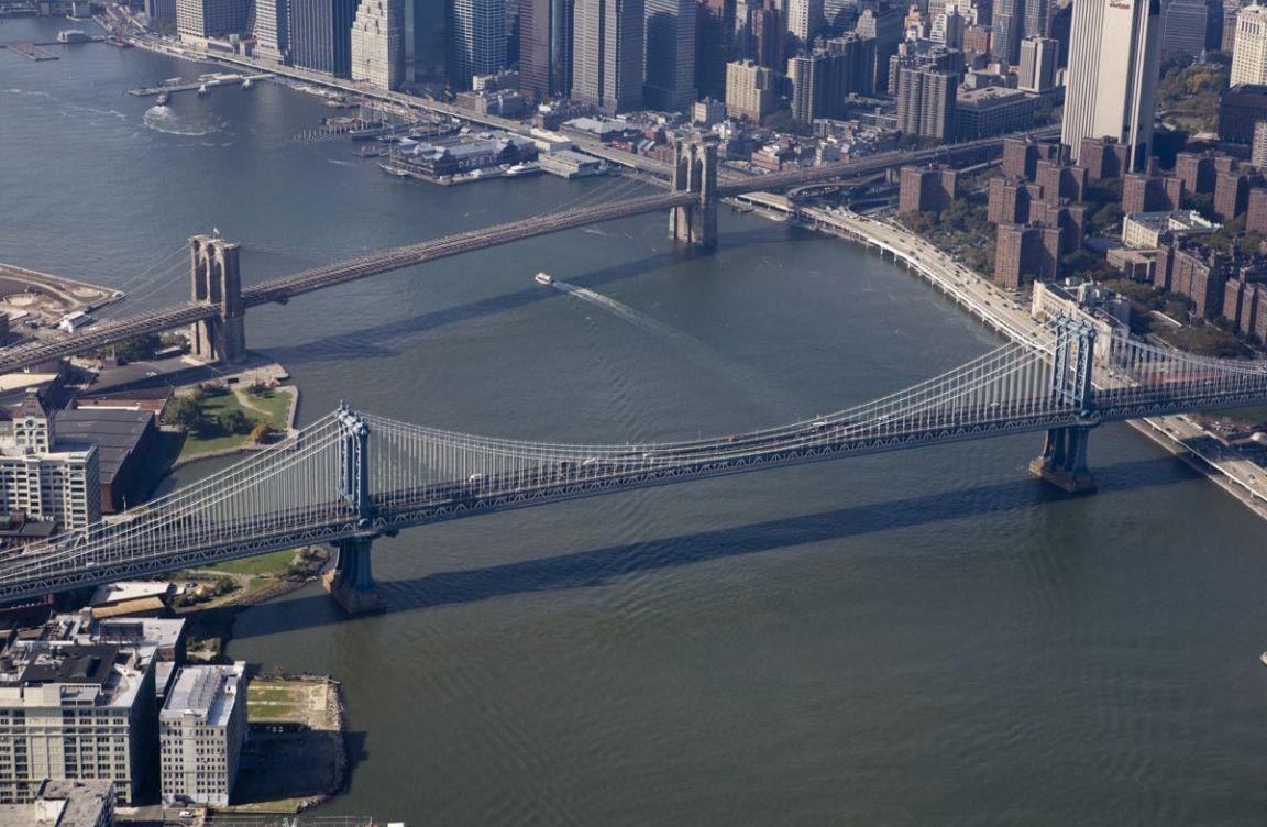 Brooklyn & Manhattan Bridges, Nowy Jork