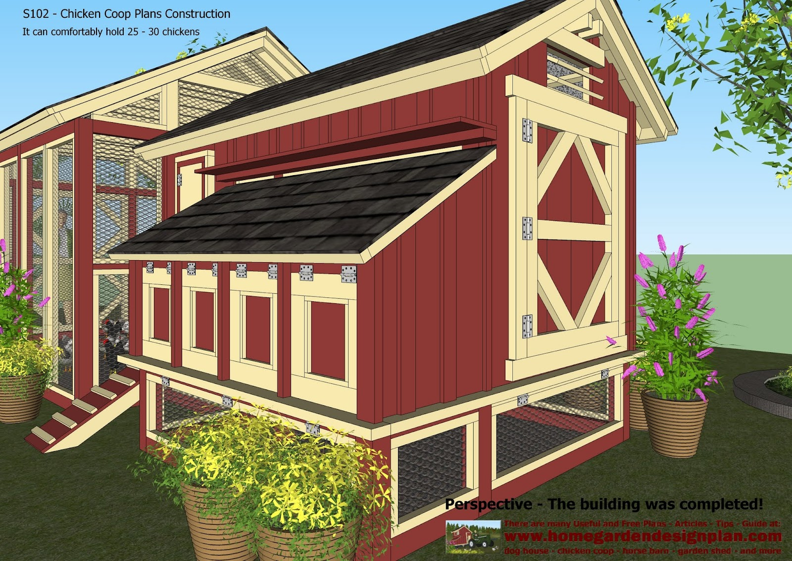 instructions on how to build a chicken coop