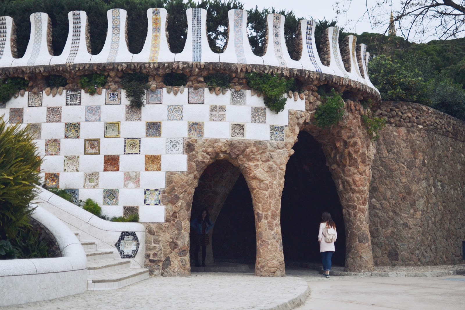 Park Guell Barcelona outfit