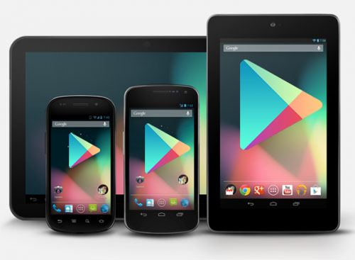 how to remove old devices from google play