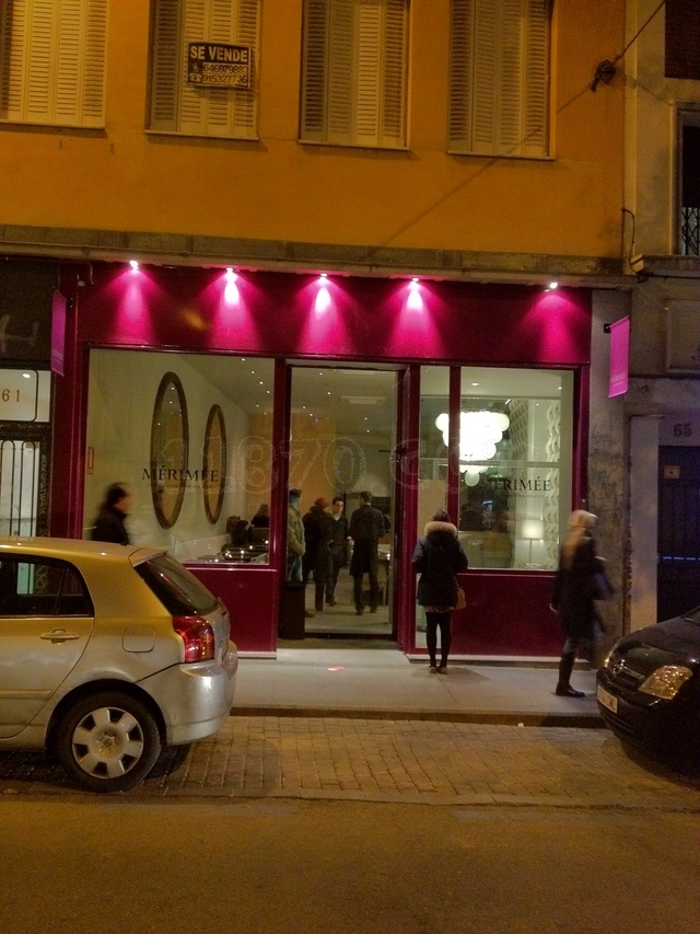 Well living blog m rime madrid - Restaurante merimee ...
