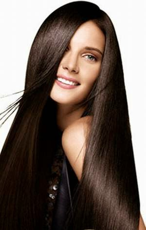 how to get straight hair naturally permanently