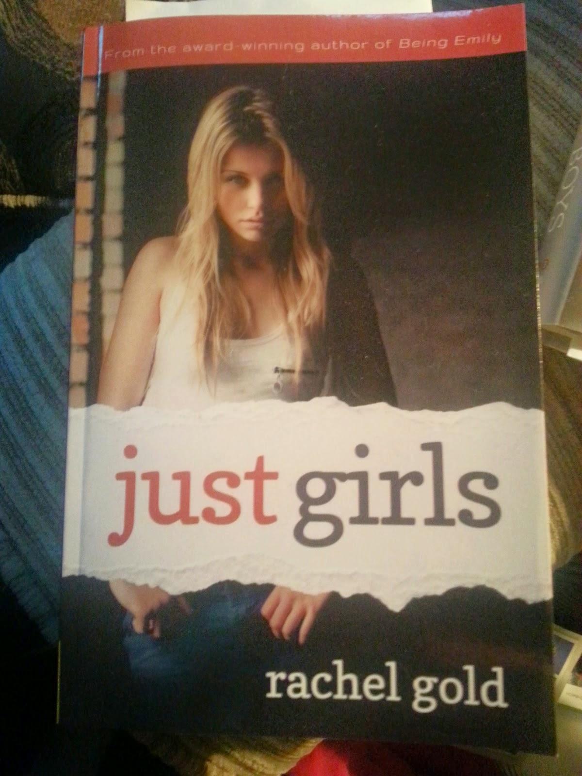 Just Girls by Rachel Gold #LGBT