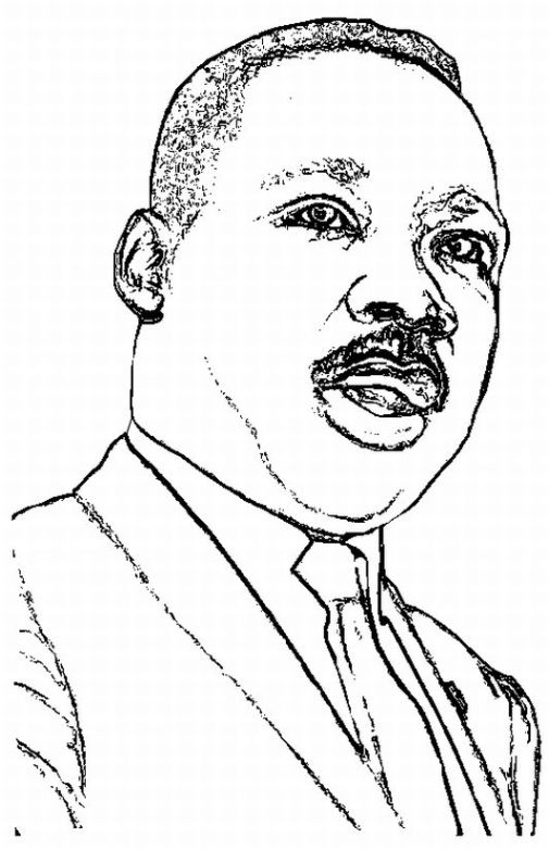 martin luther king jr color pages 28 images dr martin luther