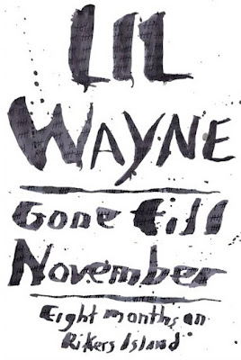 portada de gone till november el libro de lil wayne