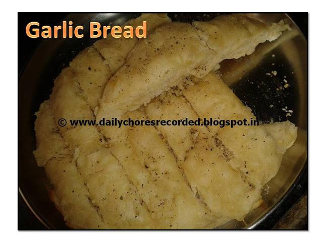 Garlic Bread- Tangzhong Method
