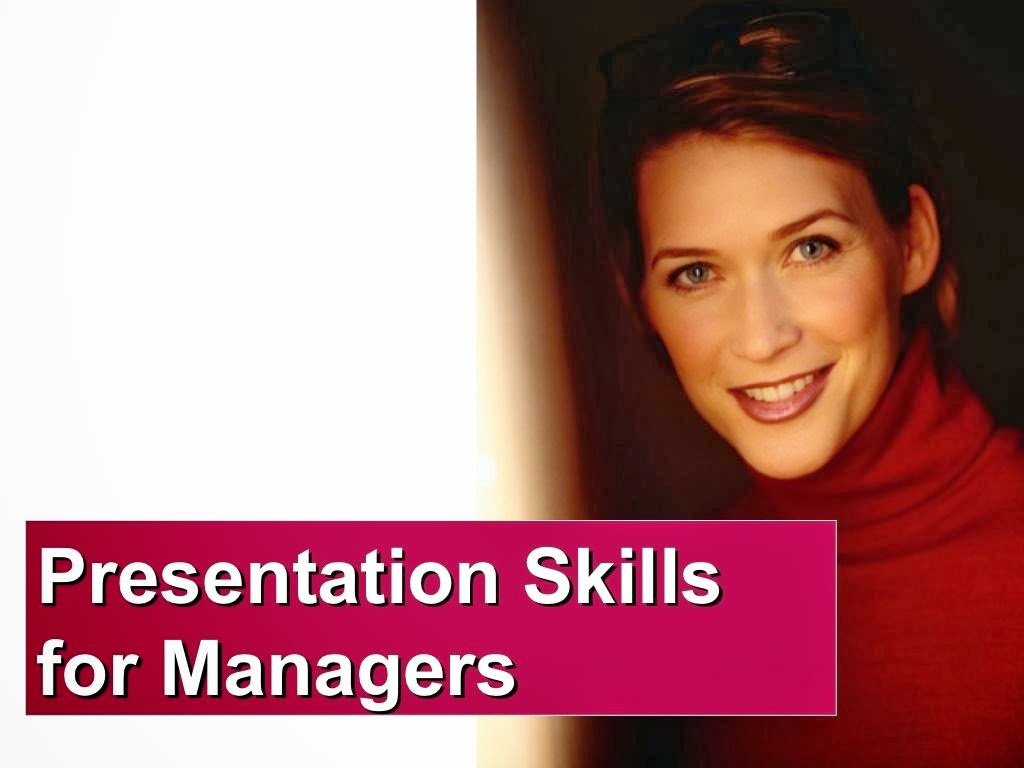 Presentation Skills for Managers PPT Download