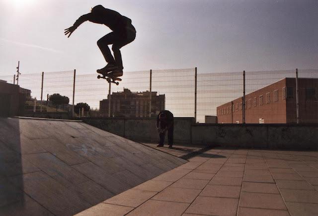 barcelona skateboarding