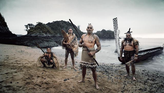 Maori sotatanssi