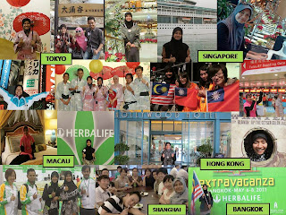 Travel around the world with Herbalife.