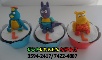 Cupcakes do backardigans