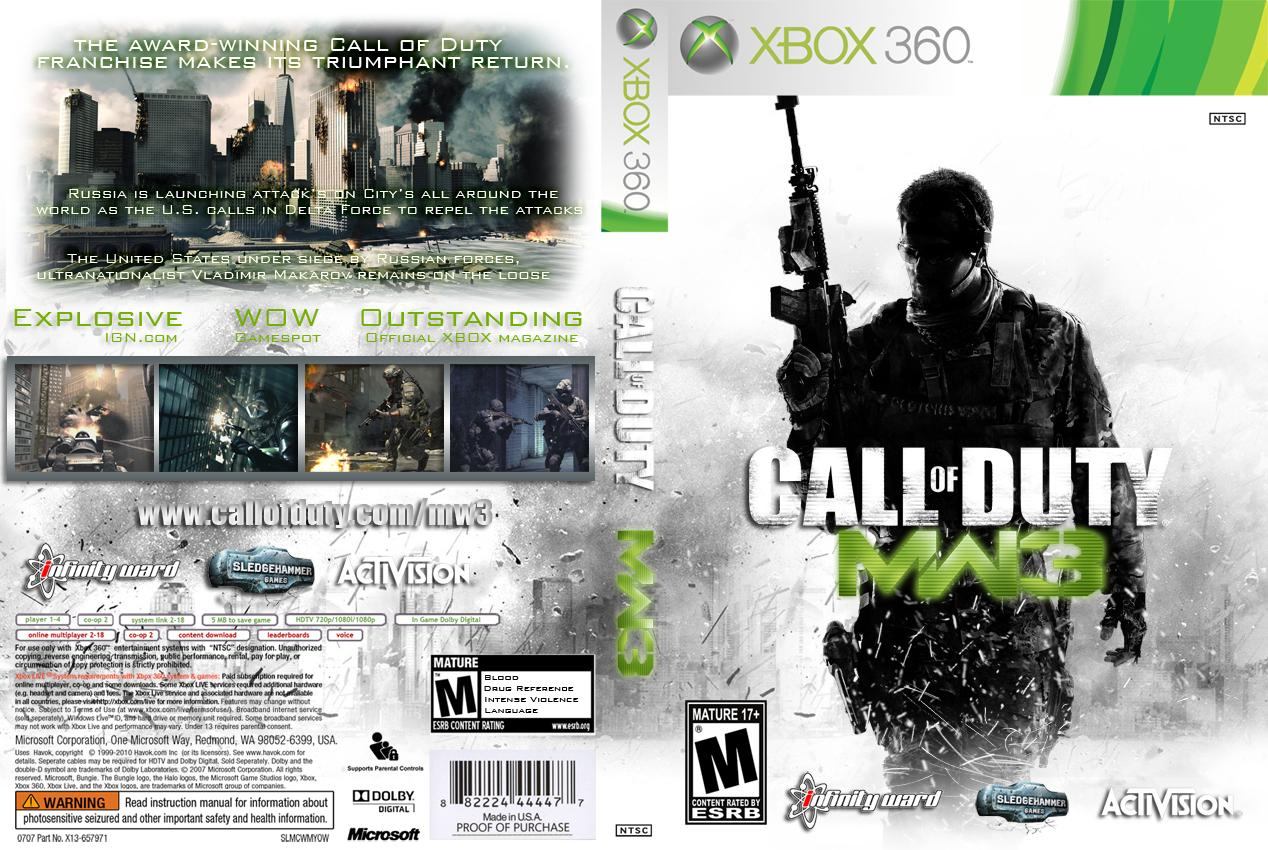 call of duty 3 x360:
