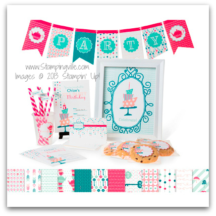 Stampin' Up! Wonderland Party Ensemble - Digital Download
