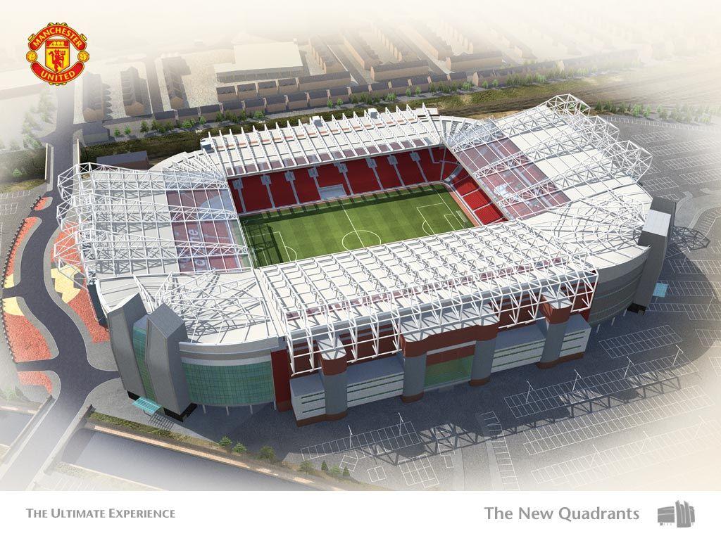In it old trafford stadium manchester united stadium old trafford