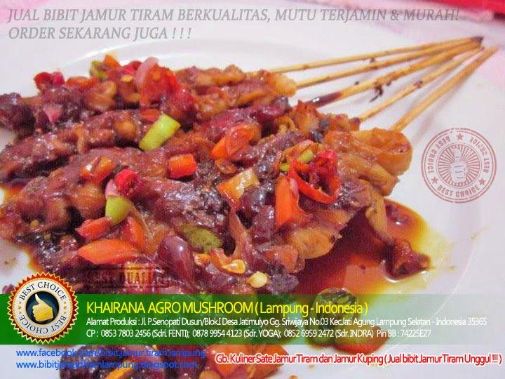 Resep Sate Jamur TIram