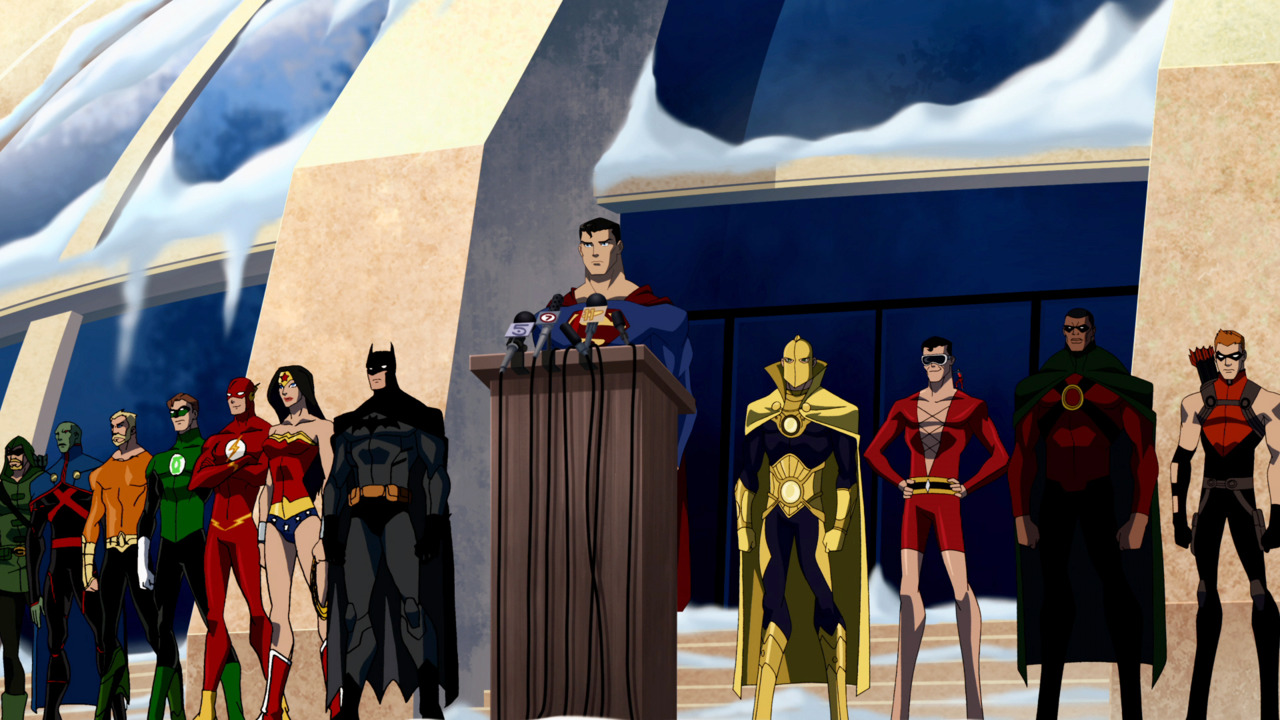 HEROES4USYoung Justice Icon