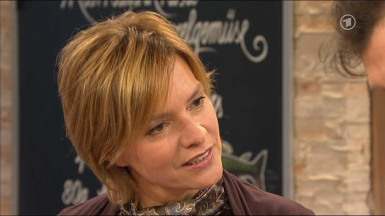 German Babes: Evelin König moderatorin ARD-Buffet @ German