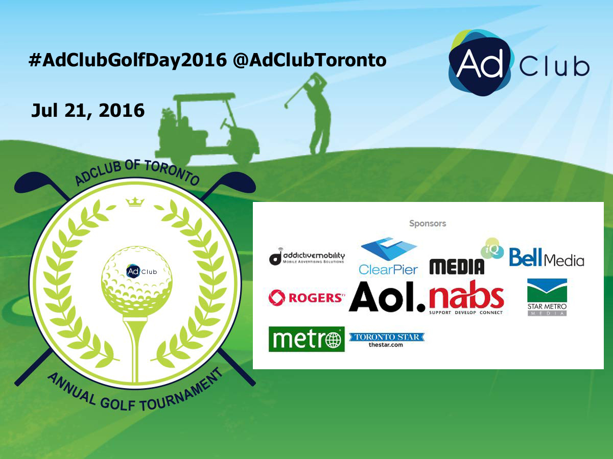 July 21 #adclubGolfDay2016