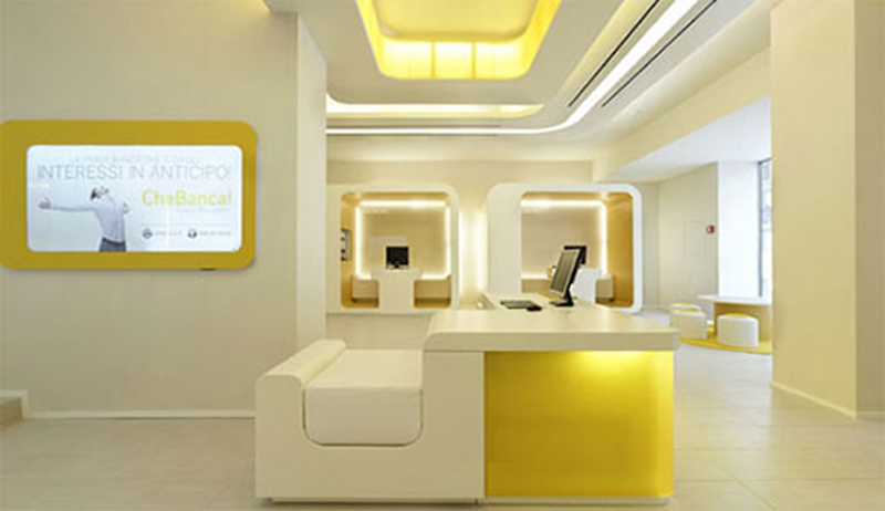 House designs home office computer design tips for Office design yellow