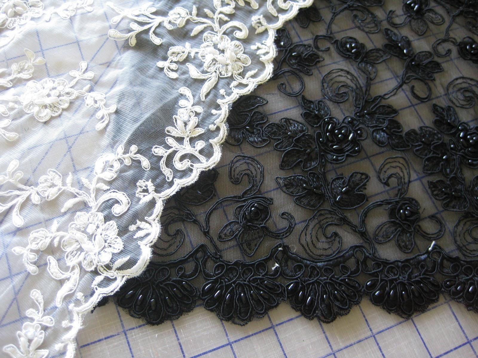 Lace For Bonnie S Wedding Dress