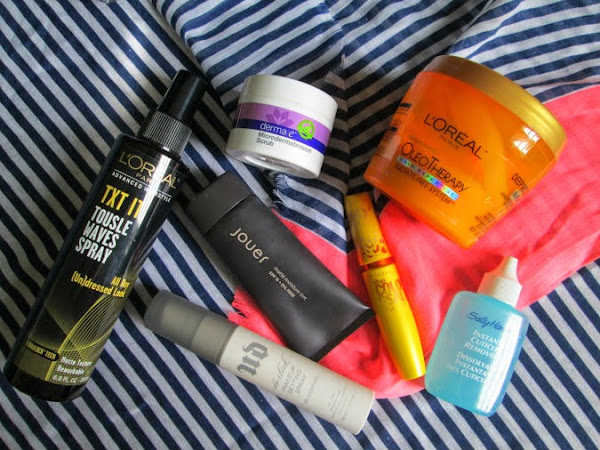 Monthly Beauty Favorites | August 2014