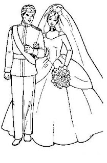 wedding coloring pages, flower coloring pages