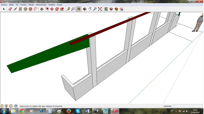 Construcciones metal mecanicas proyecto de remodelacion de cubierta sistema de estructura - Estructura metalica cubierta ...