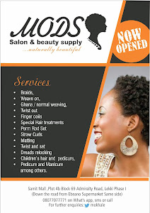 Natural Hair Salon in Lekki, Lagos - Call 08077077771