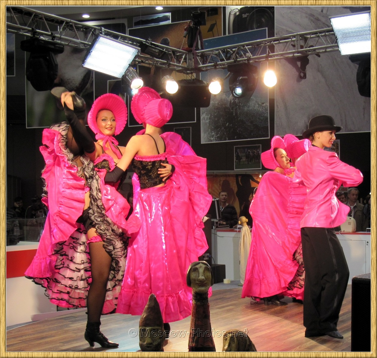 Girls Dancing In Pink Suits at Photoforum - 2010
