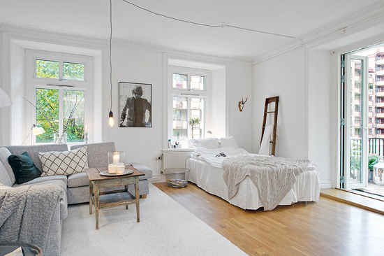 A small cosy apartment stylizimo - Idee decoration appartement etudiant ...