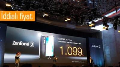 4 Gb Asus Zenfone 2'nin Fiyatı