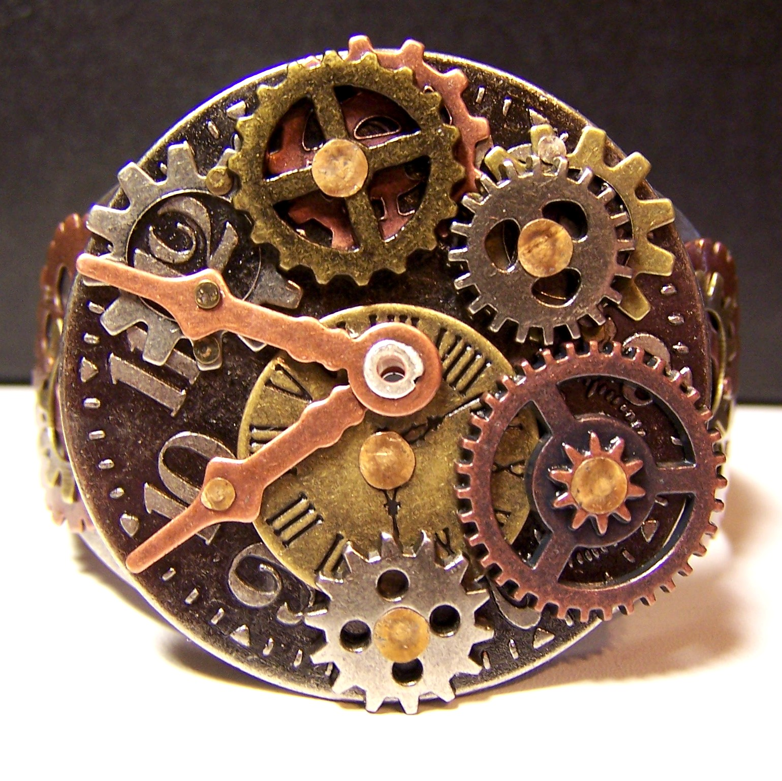zen creations jewelry gears clocks and gemstones