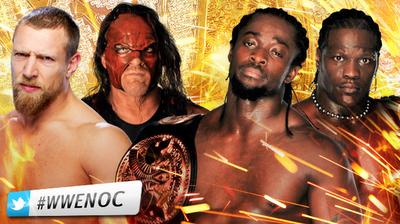 los campeones en parejas ponen en riesgo sus campeonatos de la WWE al enfrentarse a kane y bryan