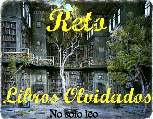 RETO LIBROS OLVIDADOS 2017-