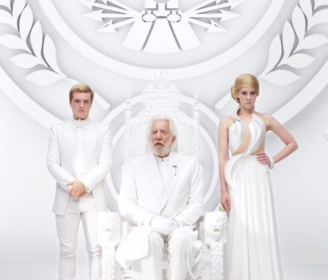 NEW Mockingjay Part 1 Teaser Trailer Peeta, Johanna, President Snow, Beetee, The Mockingjay Lives