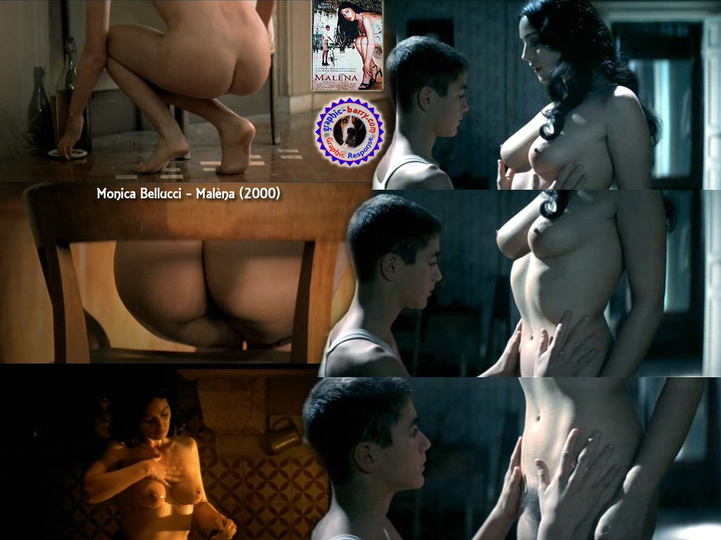 monica bellucci nude movie
