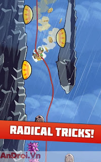 Game Android Vui Nhộn »Game Radical Rappelling