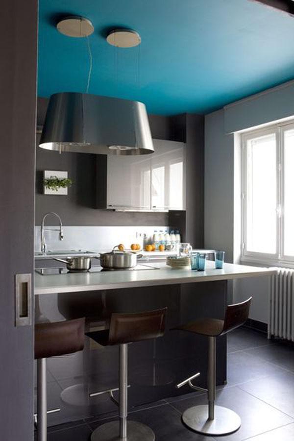 tengo una cocina vestida de azul 14 ideas 14 blue kitchens vintage chic peque as. Black Bedroom Furniture Sets. Home Design Ideas